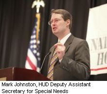Mark Johnston, HUD Deputy Assistant Secretary for Special Needs