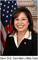 New DOL Secretary Hilda Solis